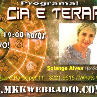 Programa Sol Cia e Terapias 03/05/2016 - Solange Alves e Ulisses de Queiroz