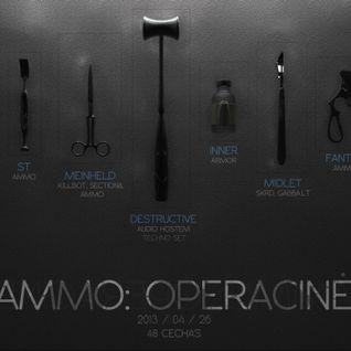 Meinheld @ Operacine (Ammo Bday) Ambient Mix 2013-04-26