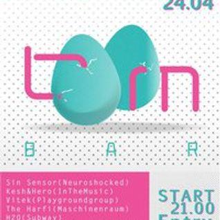 Peter Fern - Freestyle Mix @ Easter Event Boombar(Szczecin) 2011