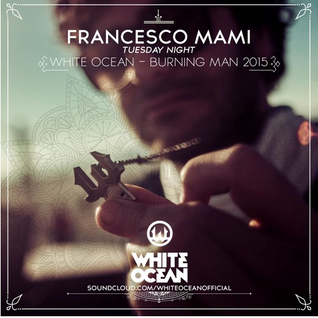Frankie from DOS at Burning Man 2015, White Ocean Stage