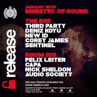 Sentinel - Live @ Ministry of Sound (London) - 16.01.2016