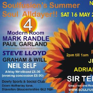 Soul Fusion Alldayer - Saturday 16th May 2015