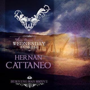 Hernan Cattaneo – White Ocean Sunrise - Burning Man 2016