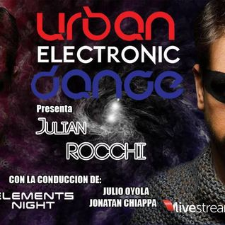 Urban Electronic Dance. Programa del sábado 1/8 en RadioiRedHD #SET #EnVivo de DJ Julian Rocchi.