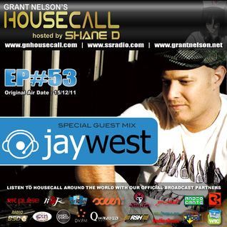 Housecall Ep#53 (15/12/11) incl. a guest mix from Jay West
