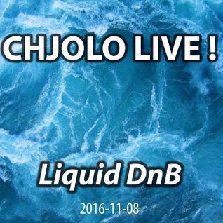 Liquid DnB - CHJOLO LIVE (2016-11-08)