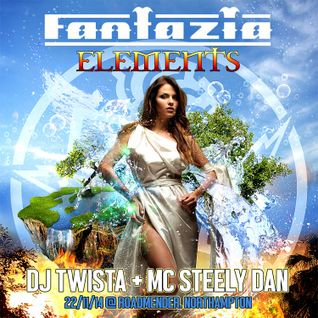 DJ Twista & Mc SteelyDan - FANTAZIA ELEMENTS 2014 - Old Skool Hardcore