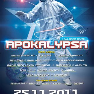 Ben Sims & Paul Mac - Live @ Apokalypsa, All Star Game, Brno, Czech Republic (25-11-2011)