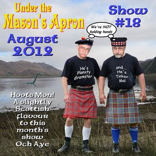 Under the Mason's Apron Show#18 Aug 2012