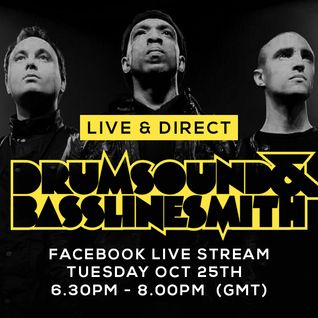 Drumsound & Bassline Smith - Live & Direct #9 (25/10/16)