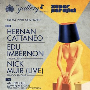 Nick Muir - Live at The Gallery, Ministry Of Sound, London (29-11-2013)