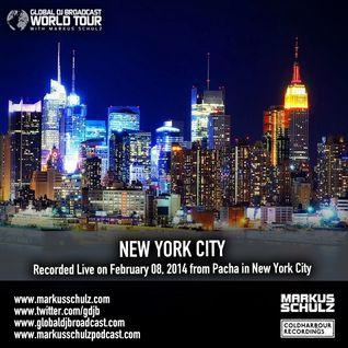 Global DJ Broadcast Feb 13 2014 - World Tour: New York City