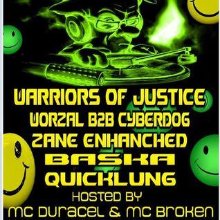 DJ Mase ( Warriors Of Justice ) - Techno Mix 12/03/2013