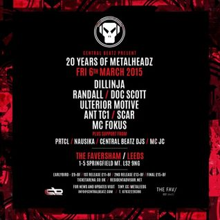 SCAR - '20 Years Of Headz' Leeds Promo Mix