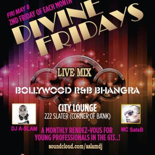 Divine Friday Live Mix - Mirch Masala Radio 97.9FM (Straight Bhangra!)