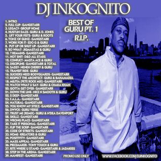 DJ Inkognito GURU Tribute mix 1