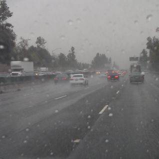 Traffic Slows for Rain from October 18, 2013