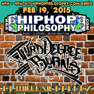"DJ ThirdRail ""Third Degree Burns"" Mixshow 2/19/15"