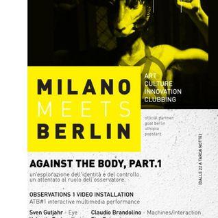 Luca Doobie - Milano Meets Berlin Pt 2 - Spazio Ansaldo - Winter 2015