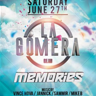 dj Mike B @ Club Vision - La Gomera memories 27-06-2015
