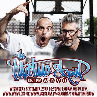 The Halftime Show w/DJ Eclipse, Stretch & Bobbito and DJ Homicide 89.1 WNYU September 23, 2015