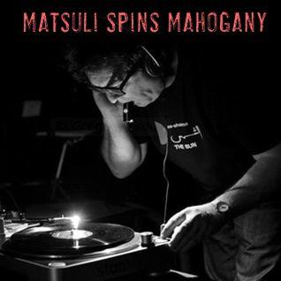 Matsuli plays Mahogany