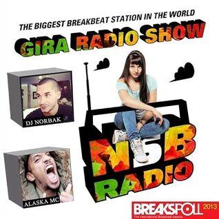 DJ NORBAK - Guest Mix for Gira Radio Show - NSB Radio (UK) [04.10.2013]