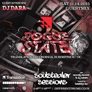 Rogue State, Seven & Moody Moore ft. Kinetiks MC • Soulstealer Sessions EP18 • DJ DARA // 11.14.2015