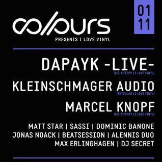 Dominic Banone @ COLOURS 01.11.2014 (Tanzhaus West, Frankfurt)