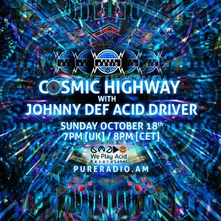 Cosmic Highway_18OCT2015 @ Pure Radio [Holland]