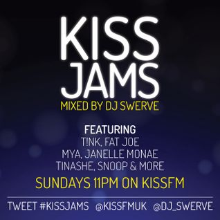 KISS JAMS MIXED BY DJ SWERVE 26APR15