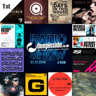 DEEPINSIDE RADIO SHOW 036 (Anthony Poteat Artist of the week)