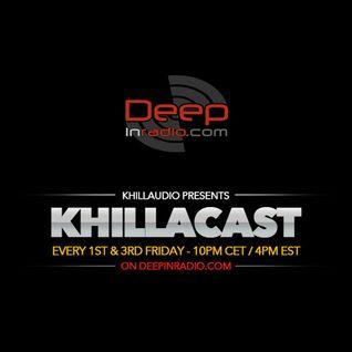 KhillaCast #025 12th June 2015 - Deepinradio.com
