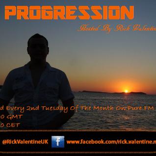 Rick Valentine Pres. PROGRESSION 035 1 Hour Mix & 1 Hour Live Special 09-06-09