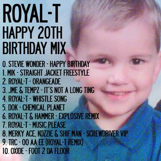 Royal-T's FREE Happy 20th Birthday Mix