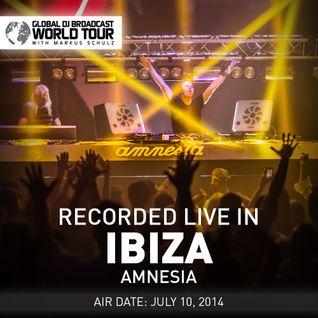 Global DJ Broadcast Jul 10 2014 - World Tour: Ibiza