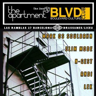 Mark Os SoulBahn - AM Records Showcase @ The Apartment (BLVD BCN) 18-05-13