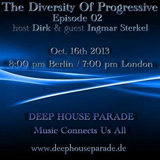 Ingmar Sterkel - The Diversity of Progressiv 02 Guestmix 16.10.2013