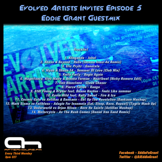 Eddie Grant - Guestmix for Evolved Artists Invites