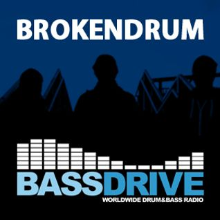 BrokenDrum LiquidDNB Show on Bassdrive 155