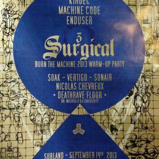Surgical#3 & BTM Warm-up Mix
