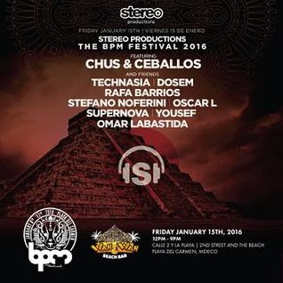 Technasia - Live @ Stereo Productions Showcase, Wah Wah Beach Bar (The BPM 2016) - 15-JAN-2016