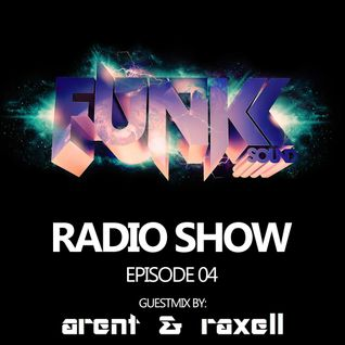 The Funkk Sound Radio Show Episode 04 feat. Arent & Raxell