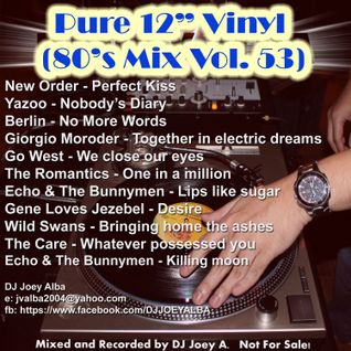 "Pure 12"" Vinyl Mix (80's Mix Vol. 53)"