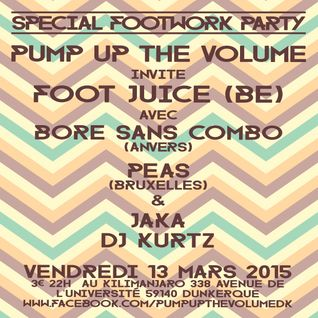 DJ Kurtz - Mini Mix For The Pump Up The Volume Special Footwork Party