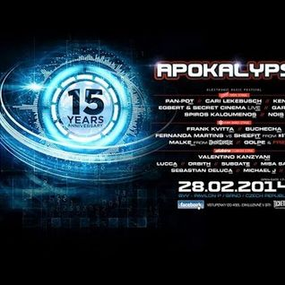 Lucca - Live @ 15 Years Apokalypsa (Brno, Czech Republic) - 28.02.2014