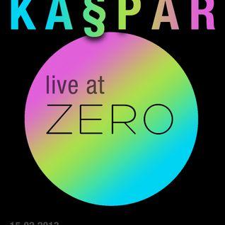 Ka§par , live at club Zero , Lisbon, February 2013