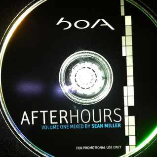 DJ SEAN MILLER - Afterhours Vol. 1 BOA Mix (2004)