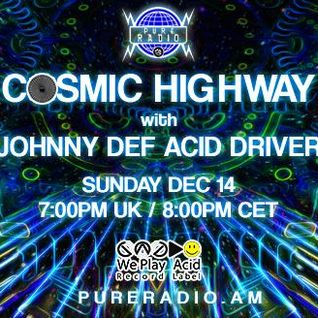 Cosmic Highway @ Pure Radio (Amsterdam) 14.12.2014_Pt1