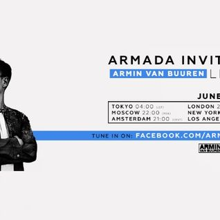Armin van Buuren - Live @ Armada Invites Launch Party - 07.06.2016